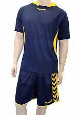 2X Hummel Sport Camiseta Balonmano 03-969 Tp Ss 7026 Azul/Amarillo XXL Nuevo