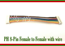 JST-PH 2.0mm 8-Pin Female connector reversed end to end extension 100mm wire x 1