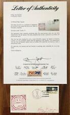 Ron Evans Signed Autographed Nasa Apollo 17 Astronaut Postal Cover Psa/Dna Coa