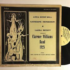 ANNA BELL KATHERINE HENDERSON LAURA BRYANT w CLARENCE WILLIAMS BAND 1928 LP VG+