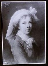 Portrait of the Artist, Magic Lantern Glass Slide (Élisabeth Vigée Le Brun)