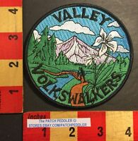 Vtg. Collectible AWA Patch Valley Volkswalkers Oregon Portland Swan Island+ 55Z