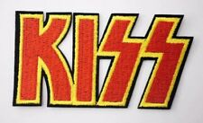 KISS logo Iron on Sew on Embroidered Patch Badge Rock Band metal Gene Paul Ace