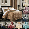 3 PCS Quilted Jacquard Bedspread Double / King Size OR Matching Eyelet Curtains
