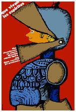 Czech movie Poster.LONG LIVE d SPIRITS.Children room interior design art.Knight.