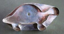TIN Flat-Backed COOKIE CUTTER Dinosaur Design Circle HF Pennsylvania Folk Art 19