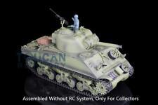 Henglong 1/16 Model USA M4A3 Sherman Static Tank 3898 W/O RC System battery