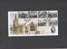2010 Great British Railways All Saints Church Walsoken (T.Dyke) Official FDC