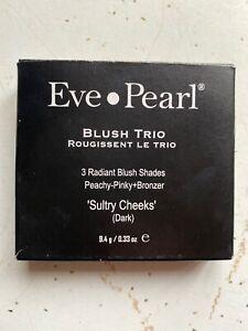 Eve Pearl Blush Trio in SULTRY CHEEKS (dark) New In Box