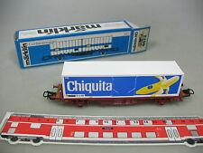 AH888-0,5# Märklin/Marklin H0/AC 4672 Containerwagen Chiquita SJ, TOP+OVP