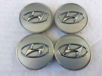 Genuine 52960 2S250 Aluminium Wheel Caps HUB 4pcs for Hyundai Elantra Sonata