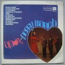 """PEGGY MARCH - """"AMOR"""" SUNG IN SPANISH LP BRAZIL 1966 RCA -  BBL196 - RARE"""