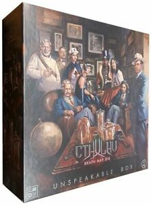 Cthulhu Death May Die Unspeakable (stretch goal) Box Kickstarter Exclusive CMoN