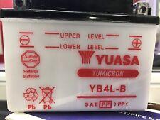 LONG LIFE Yuasa Motorcycle & Jet Ski Battery - YB4L - B Lead Cell