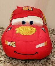 "Lightning McQueen PlushToy Car EXCLUSIVE Disney Store 13"""