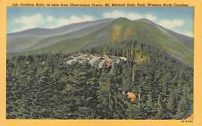 NC 1950's Mt. Mitchell Mountain North Carolina -  Yancey County