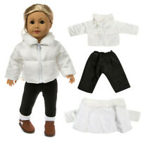 New Cute Clothes Down Jacket For 18 Inch American Boy Doll Accessory Girl Toy