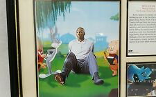 Authentic Rare Michael Jordan Space Jam Special Collector's Edition Print 1996
