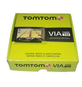 TomTom Via 1435TM GPS Navigation System New Open Box