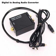 Coaxial Adaptador Digital A Analógico Convertidor De Audio RCA L / R Signal