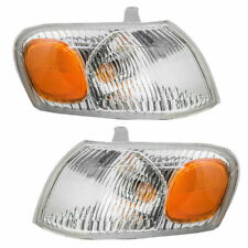 FOR TY COROLLA 1998 1999 2000 CORNER LIGHTS RIGHT & LEFT PAIR SET