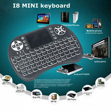 Wireless Mini Keyboard Backlit Touchpad Air Mouse For PC Andriod TV BOX 2.4Ghz