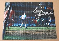 "BRUCE GROBBELAAR Liverpool HAND SIGNED Autograph 10"" X 8"" Photo COA PROOF"