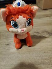 "Disney Princess Palace Pets Orange Kitty Cat 7"" Plush Stuffed Toy by Blip Toys"