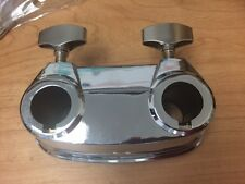 Sound Percussion Double Bass Drum Tom Arm Mount - Chrome