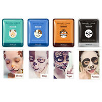Moisturizing Cute Animal Face Masks Skin Care Sheep/Panda/Dog/Tiger Facial Mask