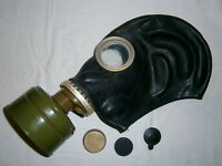 Soviet Gas Mask GP-5 Radiation Filter NBC Protection Russian Military Surplus