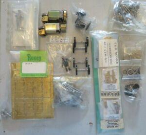 O gauge parts - Motors Roxey Stroudley detailing kit Wheels - parts 2-4-0 Tank