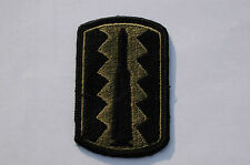 USA Army 197th Infantry Brigade - Subdued Patch -  No40