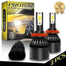 6x Protekz H11 9005 LED Headlight Conversion Kit High Low Beam Fog Light 6000K