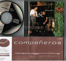 WORKING WEEK Compañeros JAPAN CD 32VD-1042 1A1 TO w/INSERT Black Triangle FreeS