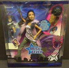 Mattel Barbie Music Fever Simone Sing Along Doll New
