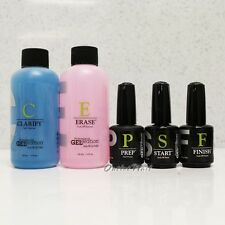 JESSICA GELeration JSC Gel Essential Kit Set 5pc:CLARIFY+ERASE+PREP+START+FINISH