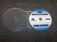 2008 Jeep Grand Cherokee Shop Service Repair Manual DVD Laredo Limited Overland