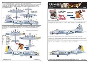 Kits-World 1/72 B-17G Flying Fortress # 72041