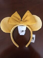 Disney 2020 Minnie Mickey Ears Headband Dandelion Mustard Yellow Pluto Nwt
