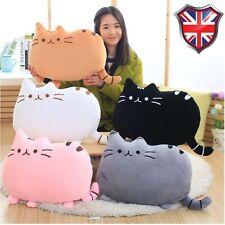 Pusheen Cat Cartoon Cushion Plush Stuffed Throw Pillow Toy Doll Home Cushion UK