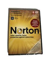 Norton Antivirus with Antispyware 2010 BRAND NEW SEALED