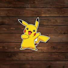 Pikachu (Pokemon) Decal/Sticker