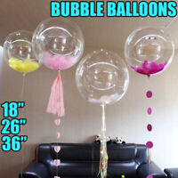 """COOL 36"""" Giant Party Bubble Balloons For Birthday Wedding All Occasions Decor"""