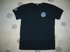 09's series China Police SWAT Summer Black T-shirt