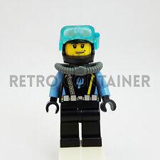 LEGO Minifigures - 1x aqu015 - Aquaraider - Omino Minifig Aquazone Set 7775