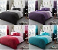 Luxury Urban Ombre Duvet Set 3PCs Duvet Cover Set Quilt Set Bed Set Bedding set