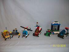Lego Set 4608 Bank Breakout JACK STONE 4606 4605 4605 100% complete 4 sets