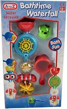 AtoZ BATHTIME WATERFALL Water spraying Bath Toy - 12m+ NEW