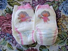 2 RARE VINTAGE 2004 PAMPERS DORA DISPOSABLE TRAINING PANTS DIAPERS 26-40 LBS NEW